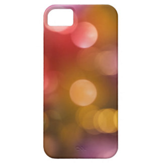 Defocused red and orange fairy lights barely there iPhone 5 case