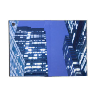 Defocused upward view of office building windows cover for iPad mini