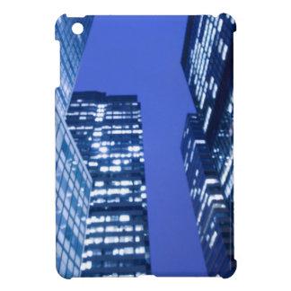Defocused upward view of office building windows iPad mini cases