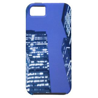 Defocused upward view of office building windows iPhone 5 case