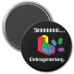 Defragmenting Fridge Magnet