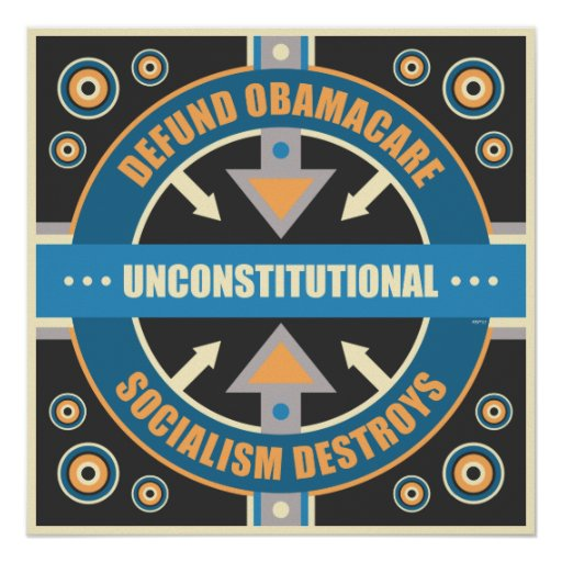 Defund Obamacare Posters