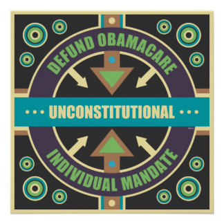 Defund Obamacare Print