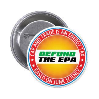 Defund The EPA 6 Cm Round Badge