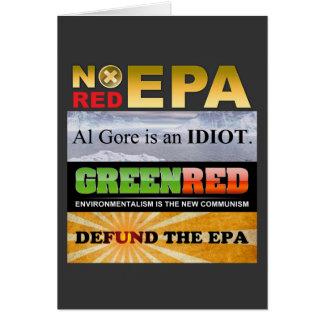 Defund The EPA Greeting Card