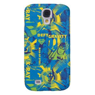 Defy Gravity - Blue Galaxy S4 Case