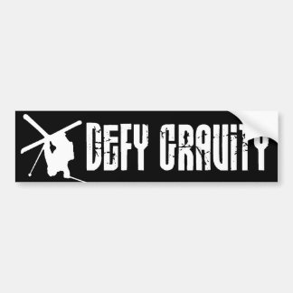Defy Gravity Bumper Sticker