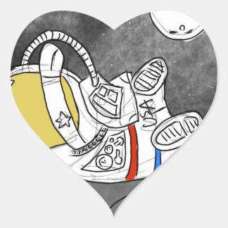 Defying Gravity Heart Sticker
