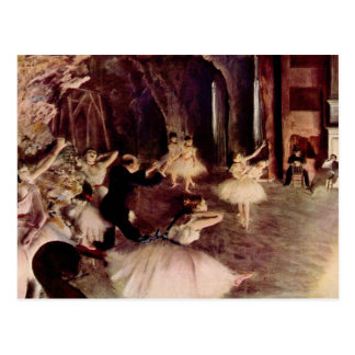 Degas Art Postcard