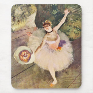 Degas Ballerina with Bouquet of Flowers Mouse Pad