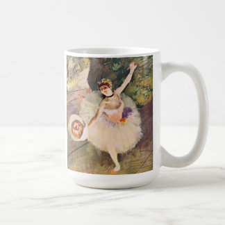 Degas Ballerina with Bouquet of Flowers Mug