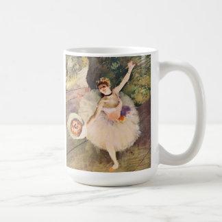 Degas Ballerina with Bouquet of Flowers Mug