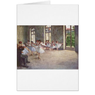 Degas Ballet Dancers Greeting Cards