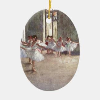 Degas Ballet Dancers Christmas Ornament
