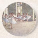 Degas Ballet Dancers Coasters
