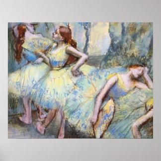 Degas Ballet Dancers Impressionist Print