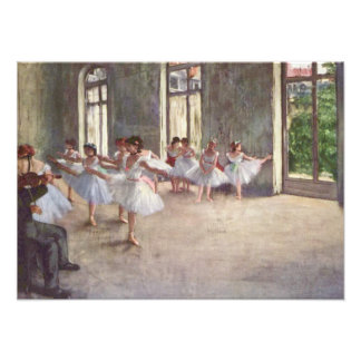 Degas' Ballet Rehearsal Photo Print