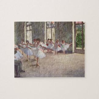 Degas' Ballet Rehearsal Puzzle