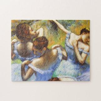 Degas Blue Dancers Puzzle