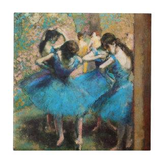 Degas Blue Dancers Tile