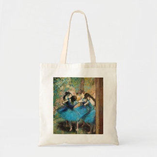 Degas Blue Dancers Tote Bag