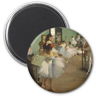 Degas Dance Class Ballet Dancers Magnet