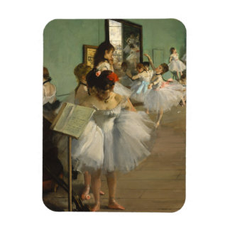 Degas Dance Class Ballet Dancers Flexible Magnets