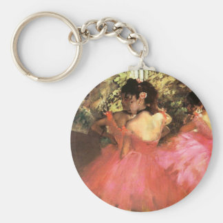 Degas Dancers in Pink Key Chain