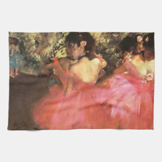 Degas Dancers in Pink Kitchen Towel
