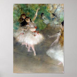 Degas, Dancers Poster