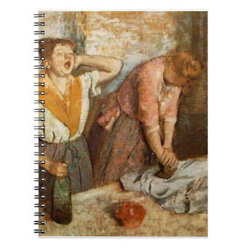 Degas Fine Art Spiral Note Book