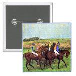 Degas' Horses Pins