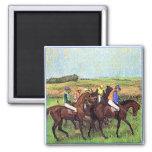 Degas' Horses Refrigerator Magnets