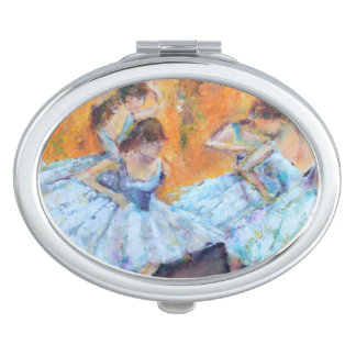 Degas Inspired compacted mirror