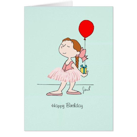 Degas Little Dancer Birthday Greeting Card