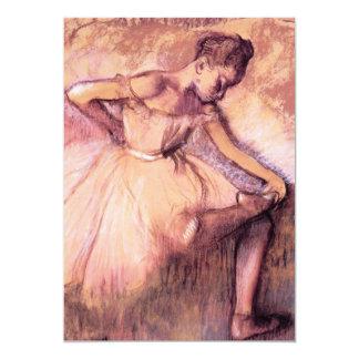 Degas Pink Ballerina Invitations