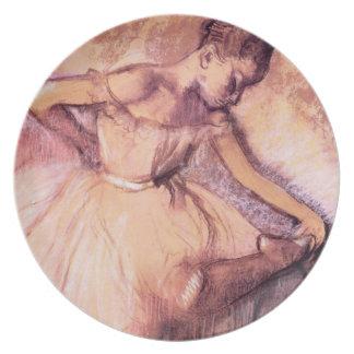 Degas Pink Ballerina Plate