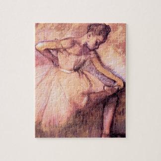 Degas Pink Ballerina Puzzle