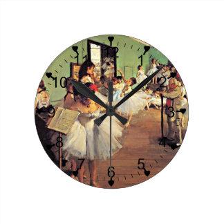 Degas: The Dance Class, 1874 Clocks