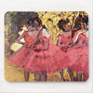 Degas: The Pink Dancers Mouse Mat