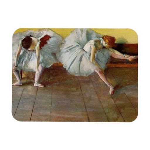 Degas Two Ballet Dancers Magnet