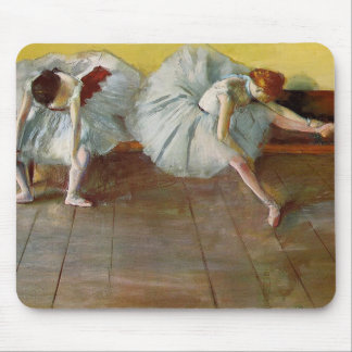 Degas Two Ballet Dancers Mouse Pad