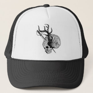 Degradations Antler Skull Hat