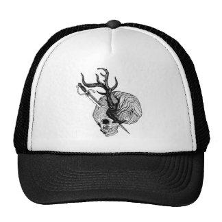 Degradations Antler Skull Hat
