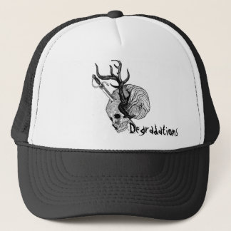 Degradations Antler Skull Trucker Hat
