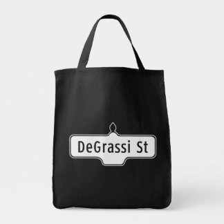 DeGrassi Street, Toronto Street Sign Tote Bag