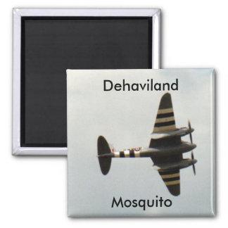 Dehaviland Mosquito Square Magnet