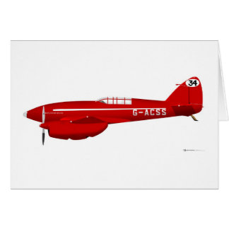 DeHavilland DH-88 Comet Card