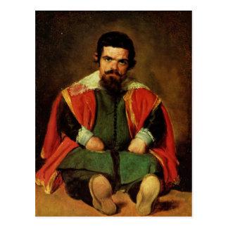 Deigo Velazquez Painting Postcard
