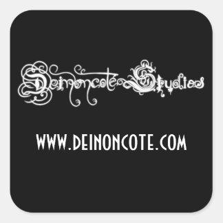 Deinoncote Studios Logo Square Sticker